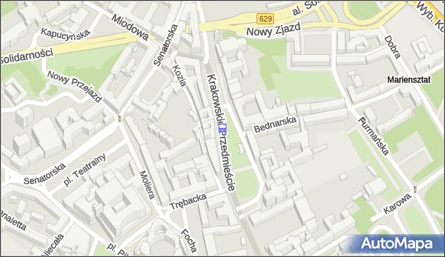 Przystanek pl.Zamkowy 02. ZTM Warszawa - Warszawa (id 704602) na mapie Targeo