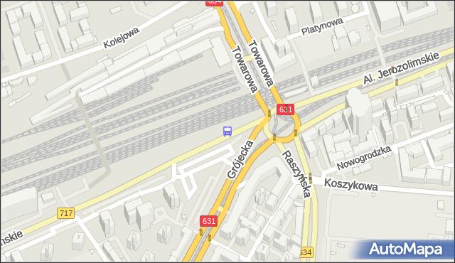 Przystanek pl.Zawiszy 02. ZTM Warszawa - Warszawa (id 400102) na mapie Targeo