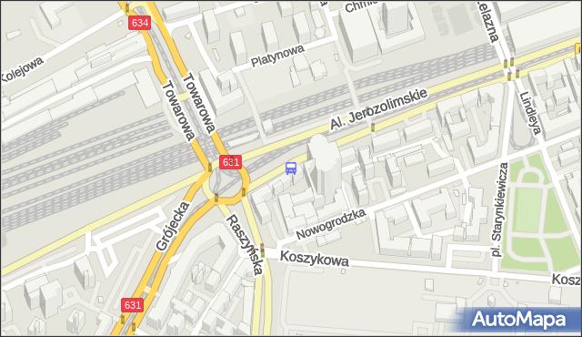 Przystanek pl.Zawiszy 03. ZTM Warszawa - Warszawa (id 400103) na mapie Targeo