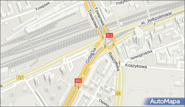 Przystanek pl.Zawiszy 04. ZTM Warszawa - Warszawa (id 400104) na mapie Targeo