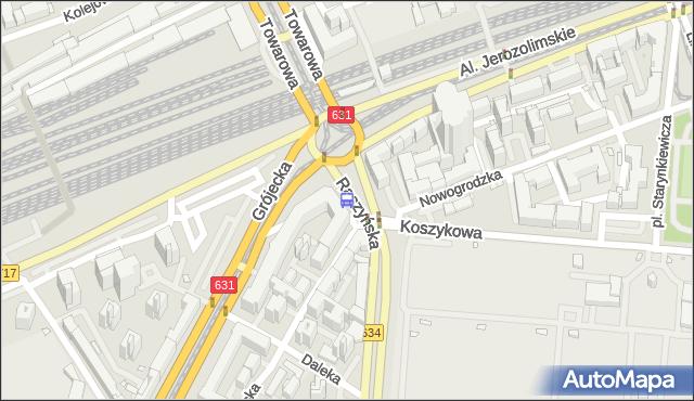 Przystanek pl.Zawiszy 15. ZTM Warszawa - Warszawa (id 400115) na mapie Targeo