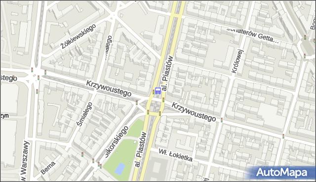 Przystanek Plac Kościuszki 12. ZDiTM Szczecin - Szczecin (id 10412) na mapie Targeo