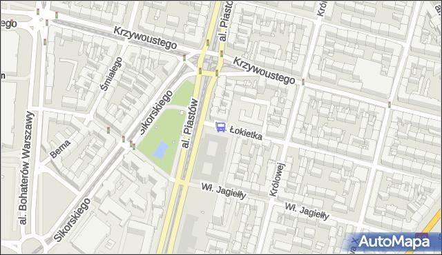 Przystanek Plac Kościuszki 32. ZDiTM Szczecin - Szczecin (id 10432) na mapie Targeo