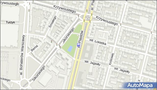 Przystanek Plac Kościuszki 35. ZDiTM Szczecin - Szczecin (id 10435) na mapie Targeo