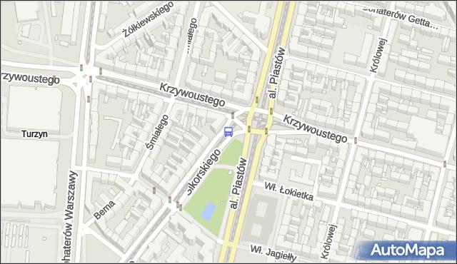 Przystanek Plac Kościuszki 41. ZDiTM Szczecin - Szczecin (id 10441) na mapie Targeo