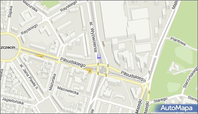Przystanek Plac Rodła 11. ZDiTM Szczecin - Szczecin (id 11511) na mapie Targeo