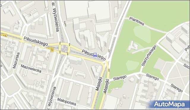 Przystanek Plac Rodła 23. ZDiTM Szczecin - Szczecin (id 11523) na mapie Targeo