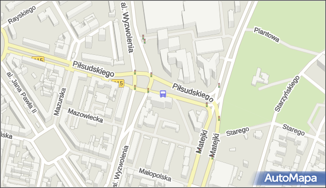 Przystanek Plac Rodła 25. ZDiTM Szczecin - Szczecin (id 11525) na mapie Targeo