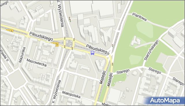 Przystanek Plac Rodła 26. ZDiTM Szczecin - Szczecin (id 11526) na mapie Targeo