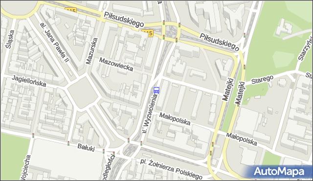Przystanek Plac Rodła 32. ZDiTM Szczecin - Szczecin (id 11532) na mapie Targeo