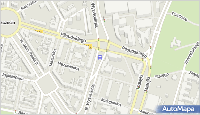 Przystanek Plac Rodła 34. ZDiTM Szczecin - Szczecin (id 11534) na mapie Targeo