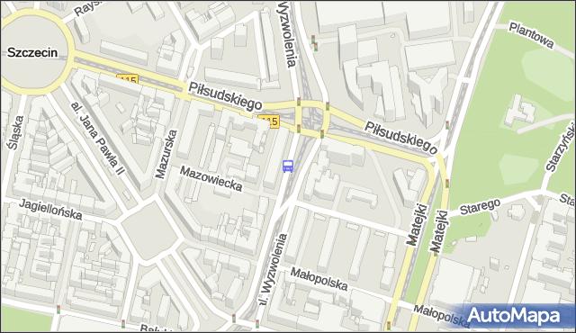 Przystanek Plac Rodła 35. ZDiTM Szczecin - Szczecin (id 11535) na mapie Targeo