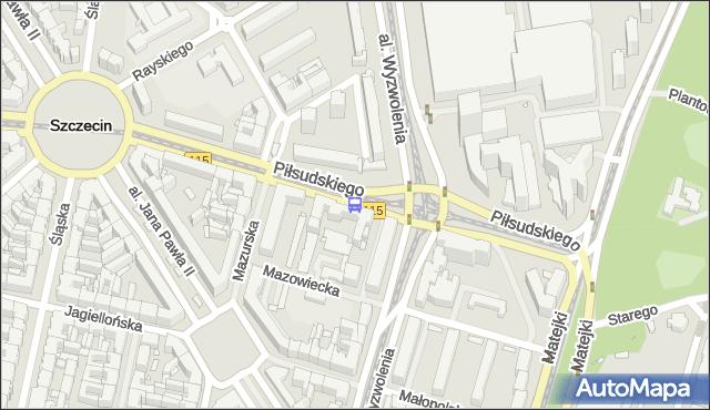 Przystanek Plac Rodła 41. ZDiTM Szczecin - Szczecin (id 11541) na mapie Targeo