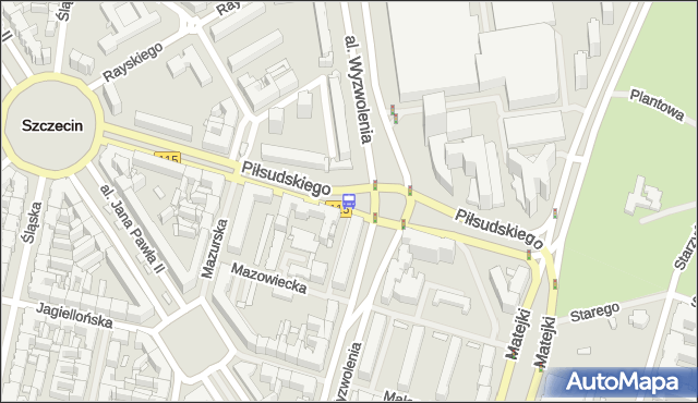 Przystanek Plac Rodła 42. ZDiTM Szczecin - Szczecin (id 11542) na mapie Targeo