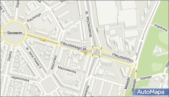 Przystanek Plac Rodła 43. ZDiTM Szczecin - Szczecin (id 11543) na mapie Targeo