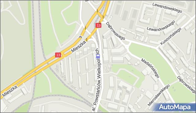 Przystanek Plac Szyrockiego 14. ZDiTM Szczecin - Szczecin (id 21214) na mapie Targeo