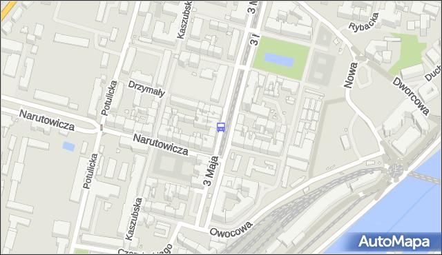 Przystanek Plac Zawiszy 11. ZDiTM Szczecin - Szczecin (id 22811) na mapie Targeo