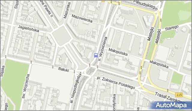 Przystanek Plac Żołnierza Polskiego 11. ZDiTM Szczecin - Szczecin (id 11311) na mapie Targeo