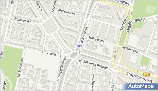 Przystanek Plac Żołnierza Polskiego 12. ZDiTM Szczecin - Szczecin (id 11312) na mapie Targeo