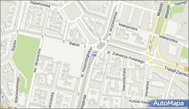 Przystanek Plac Żołnierza Polskiego 31. ZDiTM Szczecin - Szczecin (id 11331) na mapie Targeo