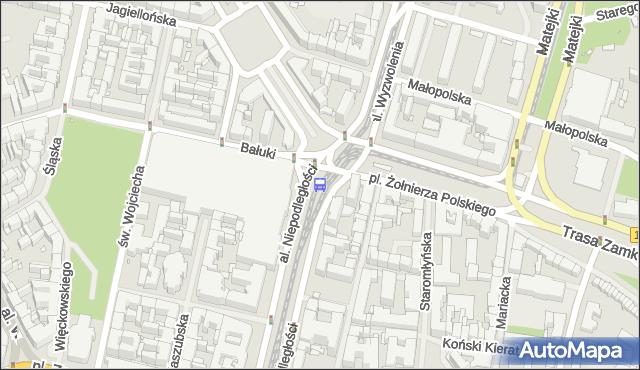 Przystanek Plac Żołnierza Polskiego 32. ZDiTM Szczecin - Szczecin (id 11332) na mapie Targeo