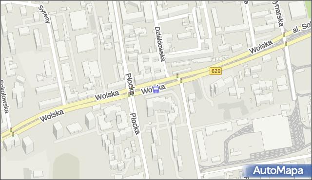 Przystanek Płocka 01. ZTM Warszawa - Warszawa (id 500501) na mapie Targeo