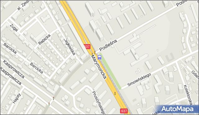 Przystanek Podleśna-IMiGW 04. ZTM Warszawa - Warszawa (id 600704) na mapie Targeo