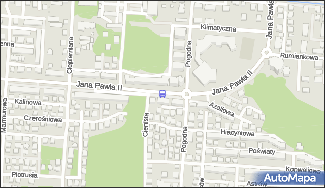 Przystanek Pogodna 02. ZTM Warszawa - Warszawa (id 234802) na mapie Targeo