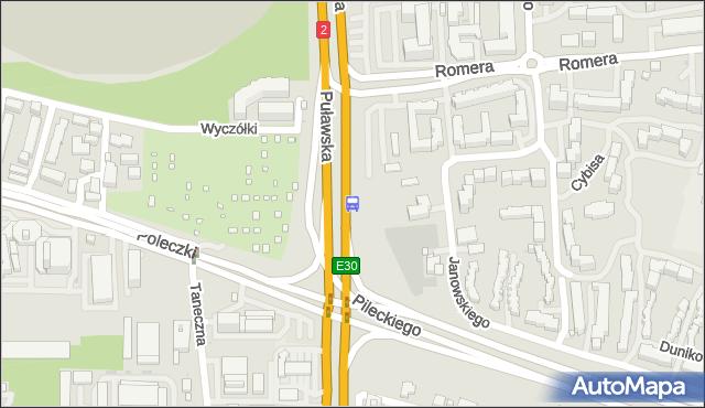 Przystanek Poleczki 02. ZTM Warszawa - Warszawa (id 301302) na mapie Targeo