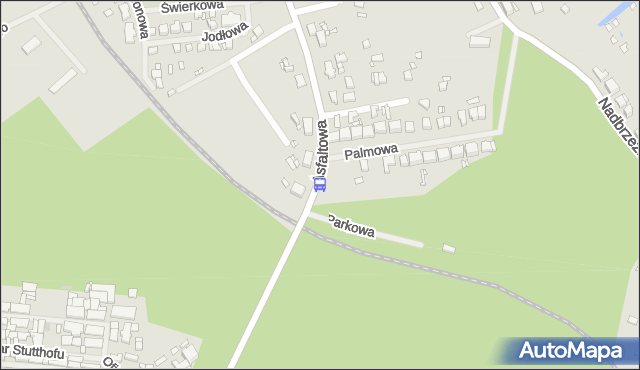 Przystanek Police Palmowa 12. ZDiTM Szczecin - Szczecin (id 55312) na mapie Targeo