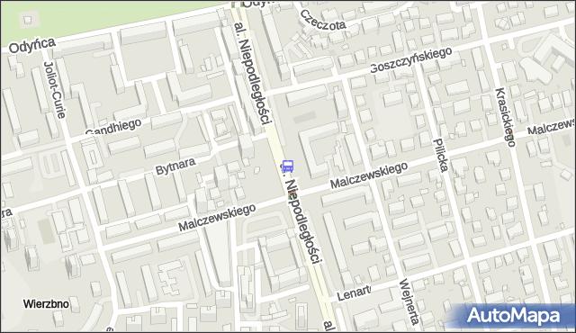 Przystanek Polskie Radio 02. ZTM Warszawa - Warszawa (id 323202) na mapie Targeo