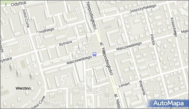 Przystanek Polskie Radio 04. ZTM Warszawa - Warszawa (id 323204) na mapie Targeo