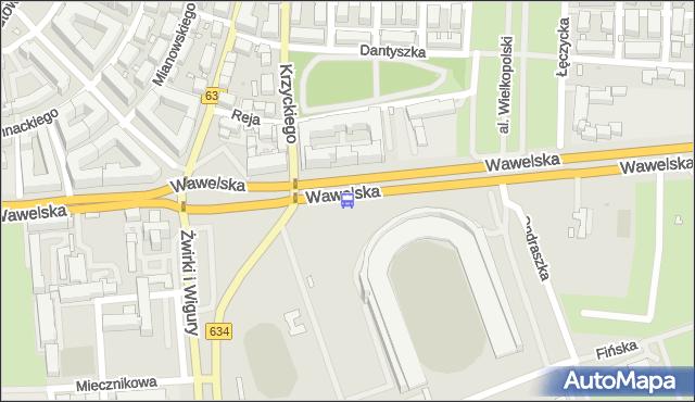 Przystanek Pomnik Lotnika 03. ZTM Warszawa - Warszawa (id 402903) na mapie Targeo