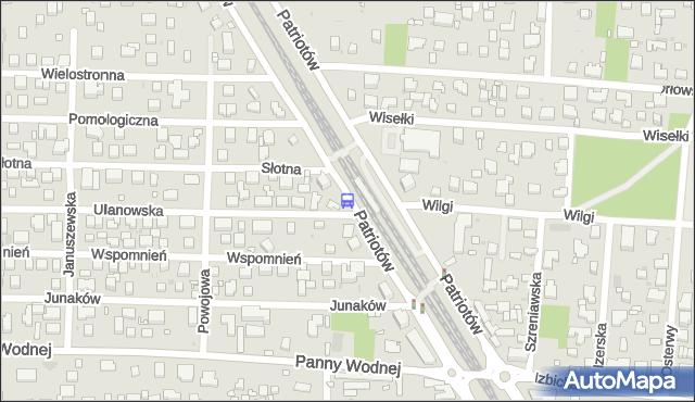 Przystanek Pomologiczna 01. ZTM Warszawa - Warszawa (id 204201) na mapie Targeo