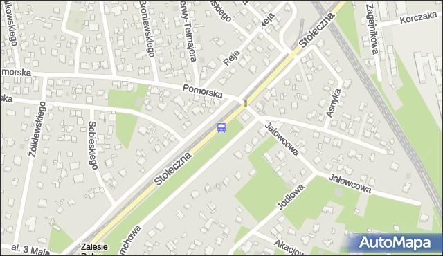 Przystanek Pomorska 02. ZTM Warszawa - Warszawa (id 333502) na mapie Targeo