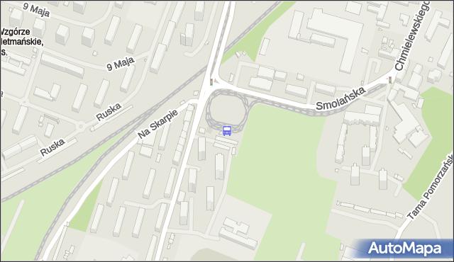 Przystanek Pomorzany 21. ZDiTM Szczecin - Szczecin (id 21621) na mapie Targeo
