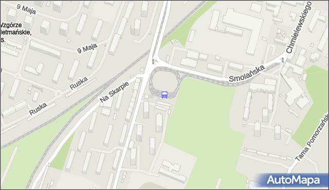 Przystanek Pomorzany 22. ZDiTM Szczecin - Szczecin (id 21622) na mapie Targeo