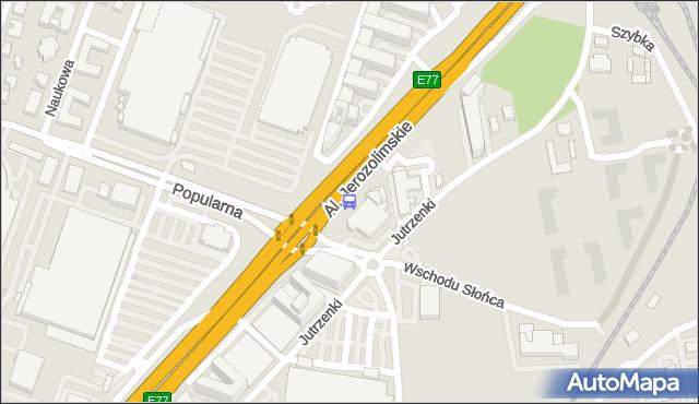 Przystanek Popularna 01. ZTM Warszawa - Warszawa (id 404801) na mapie Targeo