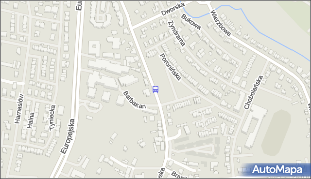 Przystanek Poronińska 12. ZDiTM Szczecin - Szczecin (id 25912) na mapie Targeo