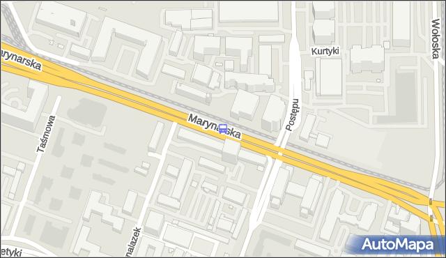 Przystanek Postępu 02. ZTM Warszawa - Warszawa (id 325002) na mapie Targeo