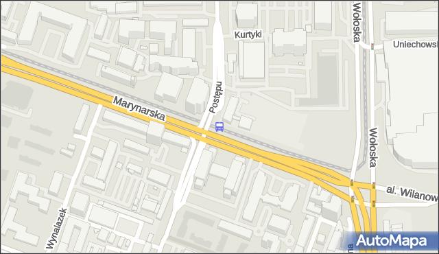 Przystanek Postępu 04. ZTM Warszawa - Warszawa (id 325004) na mapie Targeo