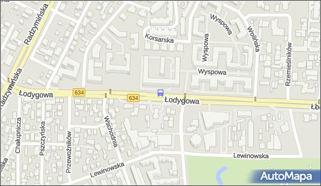 Przystanek Potulicka 01. ZTM Warszawa - Warszawa (id 130401) na mapie Targeo