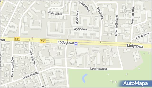 Przystanek Potulicka 02. ZTM Warszawa - Warszawa (id 130402) na mapie Targeo