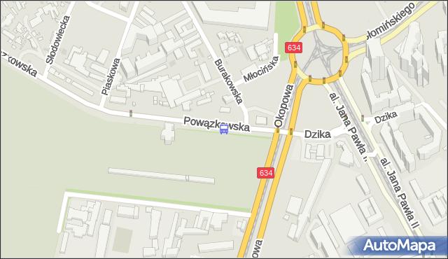 Przystanek Powązkowska 01. ZTM Warszawa - Warszawa (id 515901) na mapie Targeo