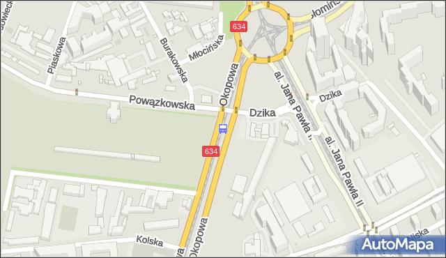 Przystanek Powązkowska 03. ZTM Warszawa - Warszawa (id 515903) na mapie Targeo
