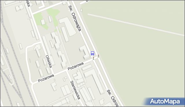 Przystanek Pożarowa 03. ZTM Warszawa - Warszawa (id 107903) na mapie Targeo