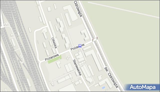 Przystanek Pożarowa 05. ZTM Warszawa - Warszawa (id 107905) na mapie Targeo
