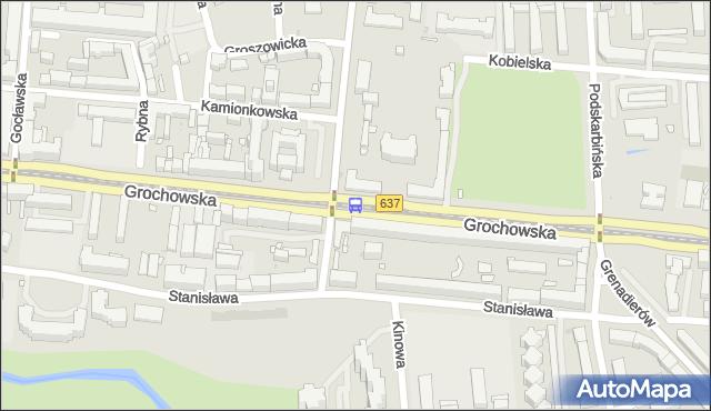 Przystanek Praga-Płd.-Ratusz 03. ZTM Warszawa - Warszawa (id 200503) na mapie Targeo