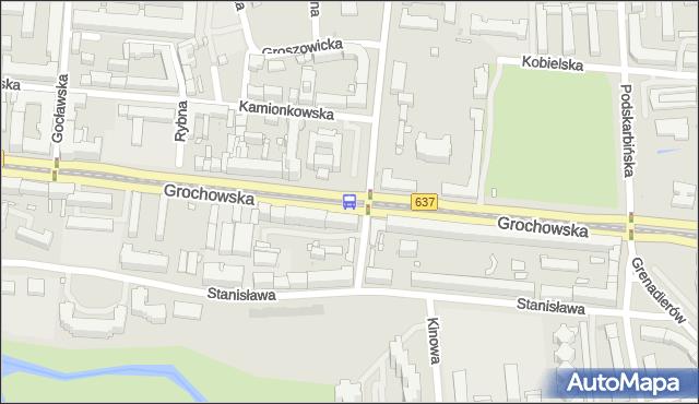 Przystanek Praga-Płd.-Ratusz 04. ZTM Warszawa - Warszawa (id 200504) na mapie Targeo