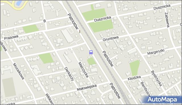 Przystanek Prasowa 01. ZTM Warszawa - Warszawa (id 204701) na mapie Targeo